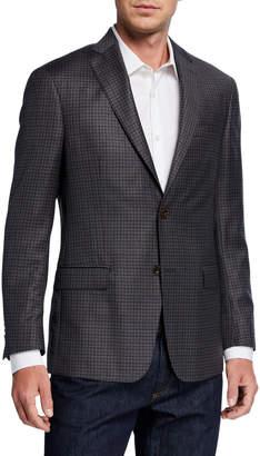 Michael Kors Men's Kanan Wool Check Sport Coat