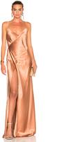 Michelle Mason Strappy Wrap Dress