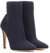 Gianvito Rossi Vires knitted ankle boots