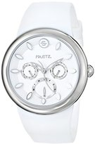 Philip Stein Teslar Fruitz by Unisex F43S-WW-W Analog Display Japanese Quartz White Watch