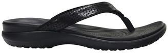 Crocs Capri V Sequin Black Sandal W 204311
