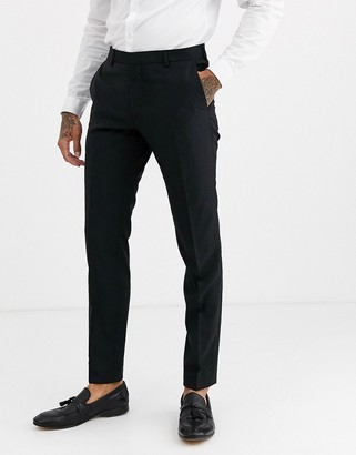 Calvin Klein black suit trouser