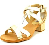 Calvin Klein Jeans Molly Women US 8 Gold Sandals