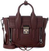 3.1 Phillip Lim Pashli Dark Bordeaux Leather Mini Satchel