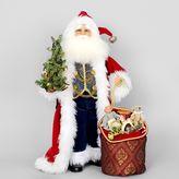 Karen Didion Originals Lighted Traditional Santa