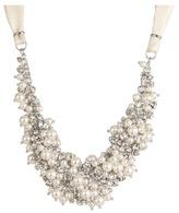 Nina Melaney Necklace (Pearl/Crystal) - Jewelry