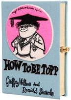 Olympia Le-Tan How To Be Topp Embroidered Book Clutch
