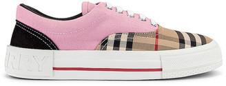 Burberry Skate Low Top Sneakers in Pink | FWRD