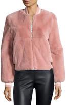 Elizabeth and James Ellington Fur Bomber Jacket