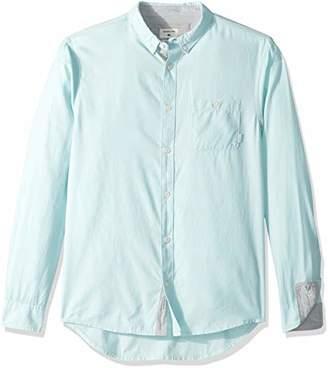 Quiksilver Young Men's Waterfalls Long Sleeve Woven Shirt