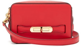 Alexander McQueen The Myth Leather Cross-body Bag - Womens - Red