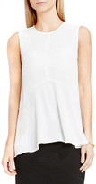 Vince Camuto Sleeveless Ruffle Front Blouse