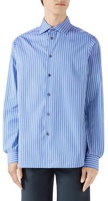 Gucci Stripe Button-Up Shirt