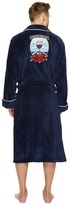 Tommy Bahama Sips Ahoy Embroidered Plush Robe Men's Robe