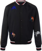 Lanvin beaded spider bomber jacket - men - Cotton/Polyamide/Polyester/glass - 46