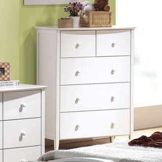 ACME Furniture San Marino White Chest with Five Drawers