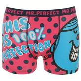 Character Mens Mr Men Single Boxer Shorts Funny Printed Underwear Accessories