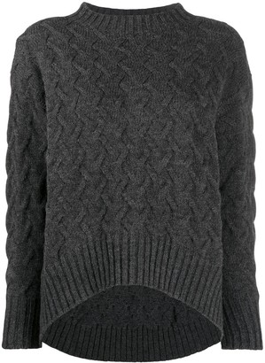 Drumohr Cable-Knit Jumper