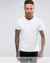 Farah T-Shirt with F Logo Muscle Fit Exclusive