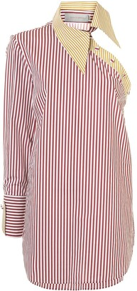 Silvia Tcherassi Striped Asymmetric Shirt
