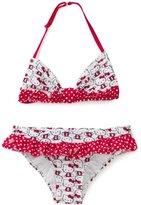 Hello Kitty Girls 7-16 Iconic Ruffle Bikini Set