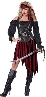 California Costumes Women's Queen of The High Seas Sexy Pirate Swashbuckler Buccaneer