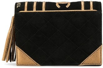 Chanel Pre Owned 2005 Book Motif Clutch