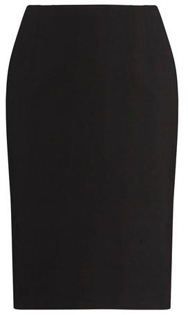 Dorothy Perkins Womens Dp Curve Black Bengaline Pull On Pencil Skirt, Black