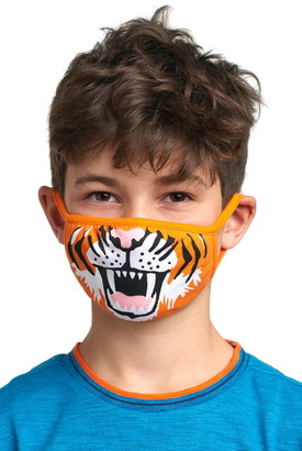Hatley Tiger Youth Reusable Face Mask