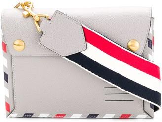Thom Browne Airmail Print Envelope Bag