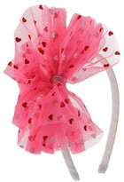 Cat & Jack Girls' Valentines's Day Tulle Headband Cat & Jack - Pink One Size