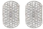 Nadri Jumbo CZ Pave Clip Earrings