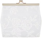 Monsoon Glitter Rose Frame Bag