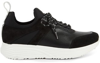 Kenneth Cole Un-Dad Leather Suede Jogger Sneakers
