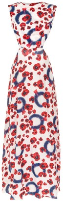 Isolda printed Anastacia dress