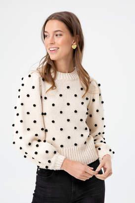 Astr Cream Aidy Sweater