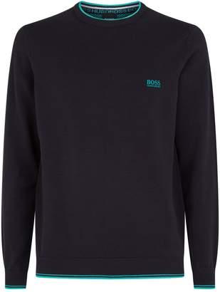 BOSS Contrast Edge Sweater