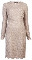 Valentino Tonal lace dress