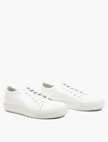 Acne Studios Adrian Cupsole Sneakers In White