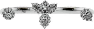 Yeprem Jewellery Diamond Two Finger Ring