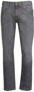 Canali Stretch Cotton Slim-Fit Jeans