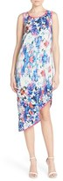 Charlie Jade Women's Print Silk Midi Dress