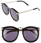Karen Walker Women's Alternative Fit Super Lunar - Arrowed By Karen 50Mm Sunglasses - Black/ Gold