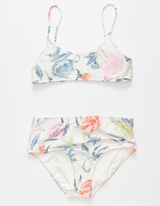 O'Neill Batik Floral Girls Bralette Bikini Set