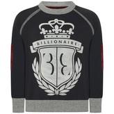 Billionaire BillionaireBoys Navy Bright Sweater