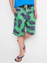 Pineapple board shorts