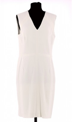 Georges Rech White Cotton Dress for Women