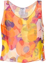 Chanel Pre Owned abstract print vest