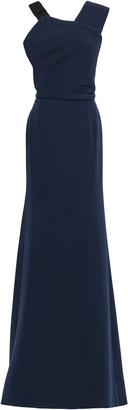 Victoria Beckham Wool And Silk-blend Gown