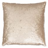 Thro Laguna Leather Sequin Square Throw Pillow